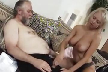 Blonde with gorgeous tits advantage of a hard cock