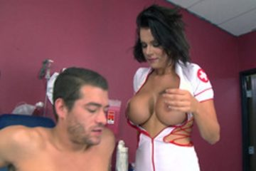 Hot nurse Peta Jensen loves sex in the hospital