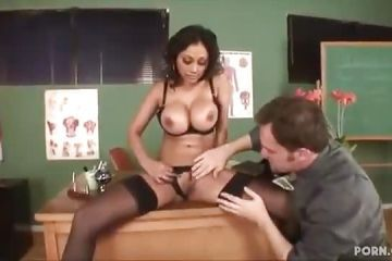 Indian teacher in one sex lesson