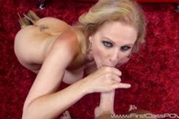 Julia Ann loves to suck big dick