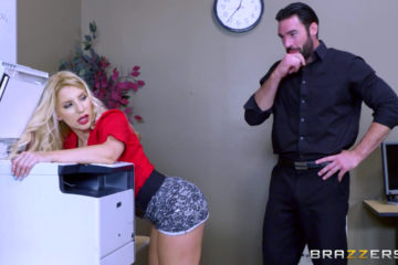 Ashley Fires gets fucked in the ass
