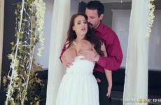 Cheating Bride Angela White Loves anal