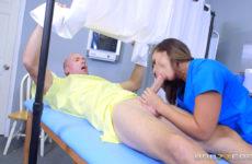 Kelsi Monroe gets a full physical