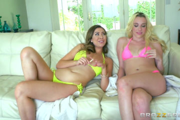 Roxy nicole teen BFFs get seperated and fucked