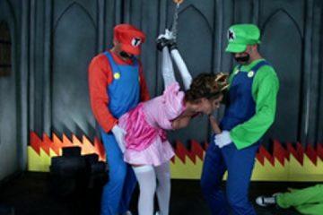 Super Mario porn parody