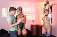 Bound To Be Pleasurable Bridgette B and Eva Notty and Kyle Mason