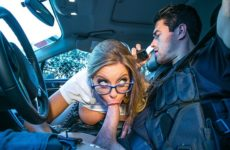 Cops and Knobbers Britney Amber and Jessy Jones and Xander Corvus
