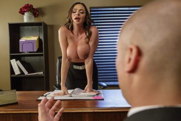 Fellatio From The She-E-O Ariella Ferrera and Sean Lawless