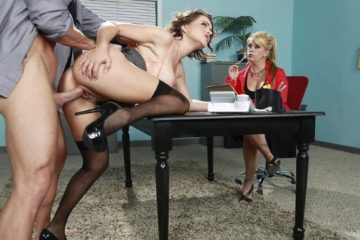 Testing Her Concentration Krissy Lynn and Johnny Sins