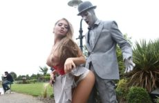 Fucking The Busker with Alessandra Jane and Danny D