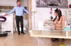 Big Tits Maid Service with Anissa Kate and David Perry