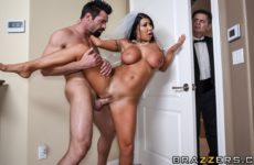 Catch The Garter Belt, Fuck The Bride with August Taylor and Charles Dera
