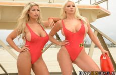 BabeZZ Watch A XXX Parody with Bridgette B and Nicolette Shea and Charles Dera