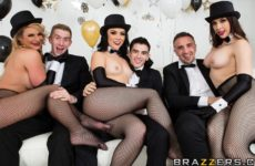 Brazzers New Years Eve Party with Chanel Preston and Kristina Rose and Phoenix Marie and Danny D and Jordi El Niño Polla and Keiran Lee