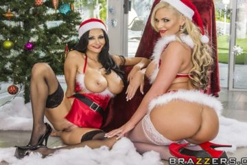 Naughty Or Nice with Ava Addams and Phoenix Marie and Toni Ribas