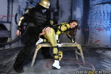 Power Bangers A XXX Parody Part 4 with Abigail Mac and Danny D