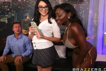 Strip Club Surprise with Nickey Huntsman and Osa Lovely and Jessy Jones
