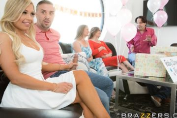 Busted At The Babyshower with Kendall Kayden and Keiran Lee