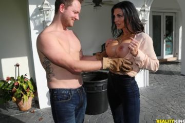 In The Garden Of The Milf with Melissa Lynn and Van Wylde