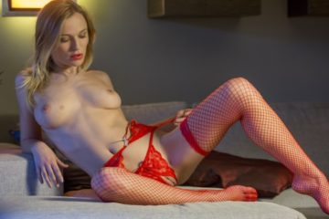 Racy in Red with Aislin