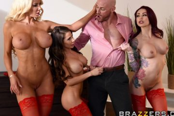 1 800 Phone Sex Line 8 with Madison Ivy and Monique Alexander and Nicolette Shea and Johnny Sins