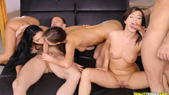 D'une fête à une orgie