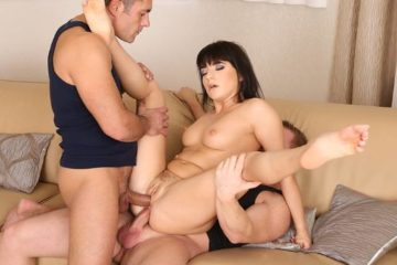 Liza Kolt Gets Cocked with Liza Kolt and Renato and Chad Rockwell
