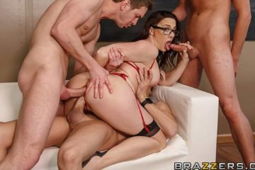 Free-For-All Fuck Lessons with Chanel Preston and Dylan Snow and Markus Dupree and Xander Corvus