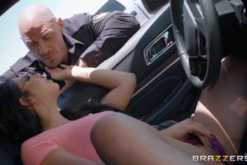 Traffic Violation with Gina Valentina and Johnny Sins