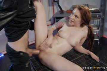 Anal Probe Experiments Britain with Anna de Ville and Danny D