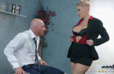 Product Placement In Her Pussy with Ryan Keely and Johnny Sins