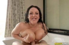 Big Titted Bubble Bath with Angela White and Markus Dupree