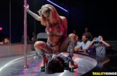 Rotten Experience At The Strip Club with Bonnie Rotten and Jordi