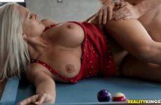 Pool Hall Milf with Alena Croft and Tony Rubino