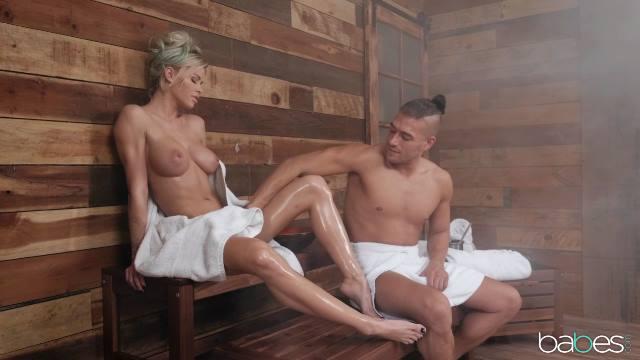 Erotik in der sauna