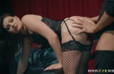 porn doll Jessica Rex fucking anally
