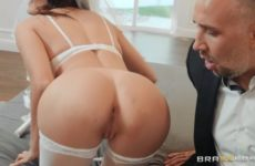 Sexually testing the bride Adria Rae before the wedding