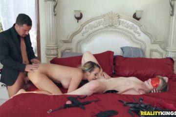 Brett Rossi and Britney Light fucking in threesome
