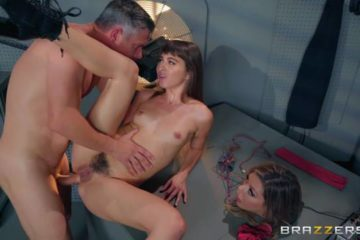 Riley Reid playing Sex Games in a scene from pornography