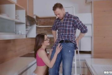 Real homemade sex with the young sexy Rachel Adjani