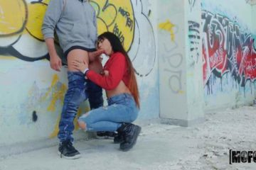 Homemade sex in spanish with a horny brunette