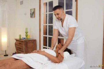 body massage with spontaneous sex