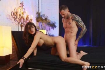 vip pornography with sexy black lingerie